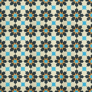 Hector - Sample - cement spanish floor tiles