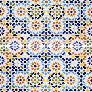 Samita- Decorative Tiles from Morocco