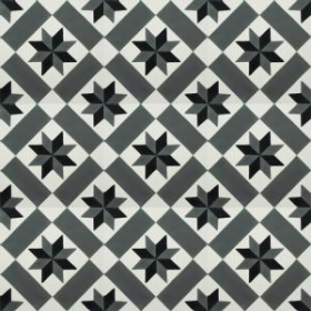 Rectino - SAMPLE - Spanish cement floor tiles