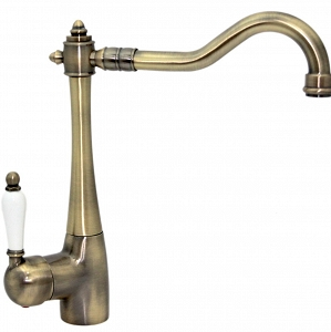 Saleh - Antique Brass Faucet in Retro-style