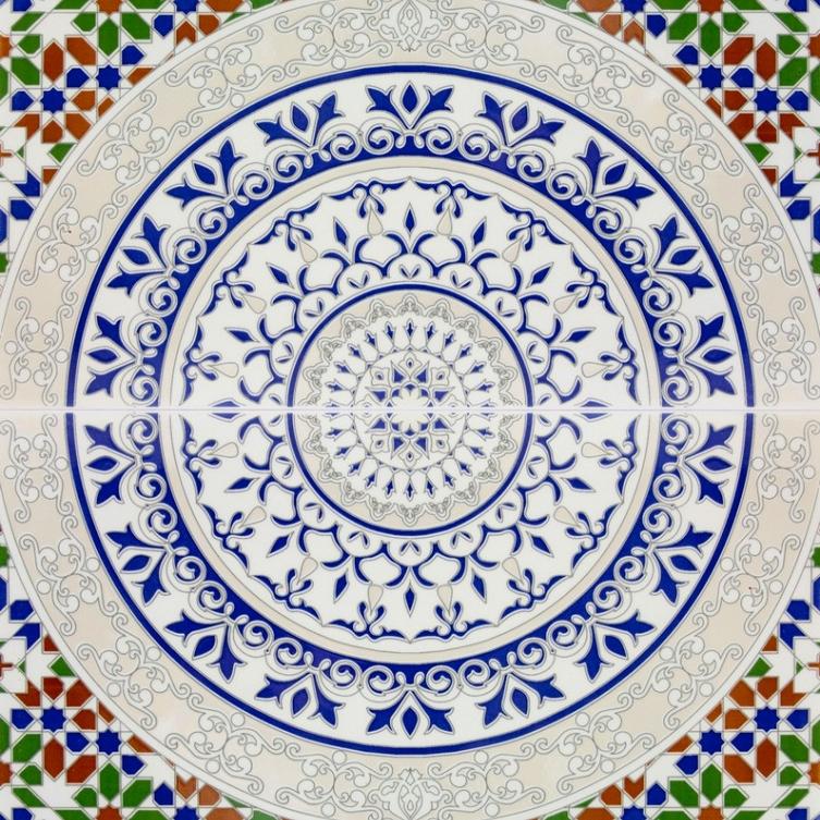 Touska Arabic Tiles From Morocco
