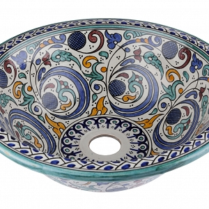 Hafi - ceramic sink from Morocco