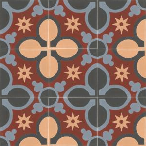 Alba - cement spanish floor tiles