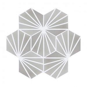 Laik - Hexagonal cement tiles
