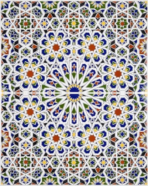 Mattullah Arabic Tiles From Morocco
