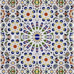 Mattullah - Arabic Tiles from Morocco