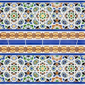 Asma - Colourful Moroccan Tiles
