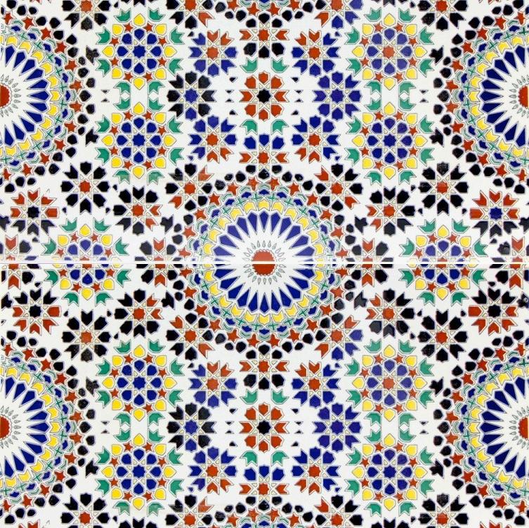 Esmina Unique Moroccan Tiles