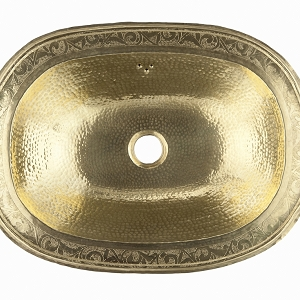 Laila - Gold Moroccan Copper Sink