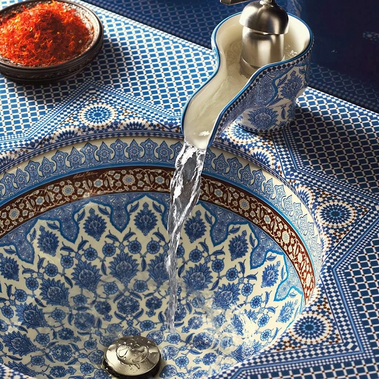 Marrakesh counter, sink and faucet - photo#44