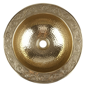 Esia - Moroccan Round Copper Sink