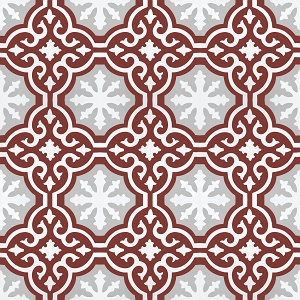 Tedd   - Oriental cement floor tiles