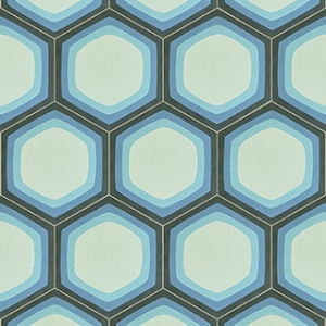 Mirdor - Hexagonal cement tiles