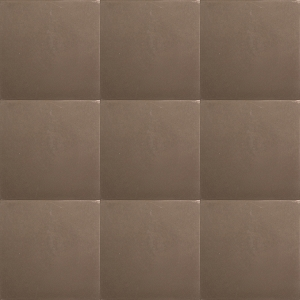 Single-colored brown / coffee tiles 0,96 m2 14x14 cm