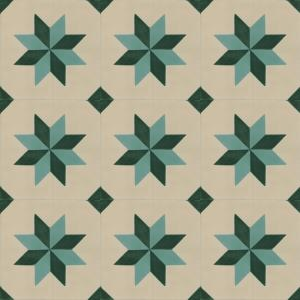 Martinez - Spanish cement floor tiles