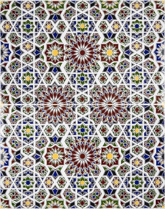 Marwa - decortaive tiles from Morocco