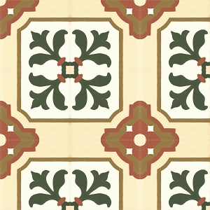 Lopez - Oriental cement floor tiles