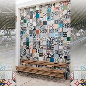 Own custom Spanish cement tiles