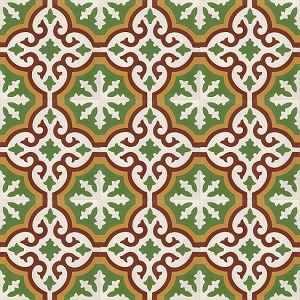 Alexis - Oriental cement floor tiles - Fast delivery